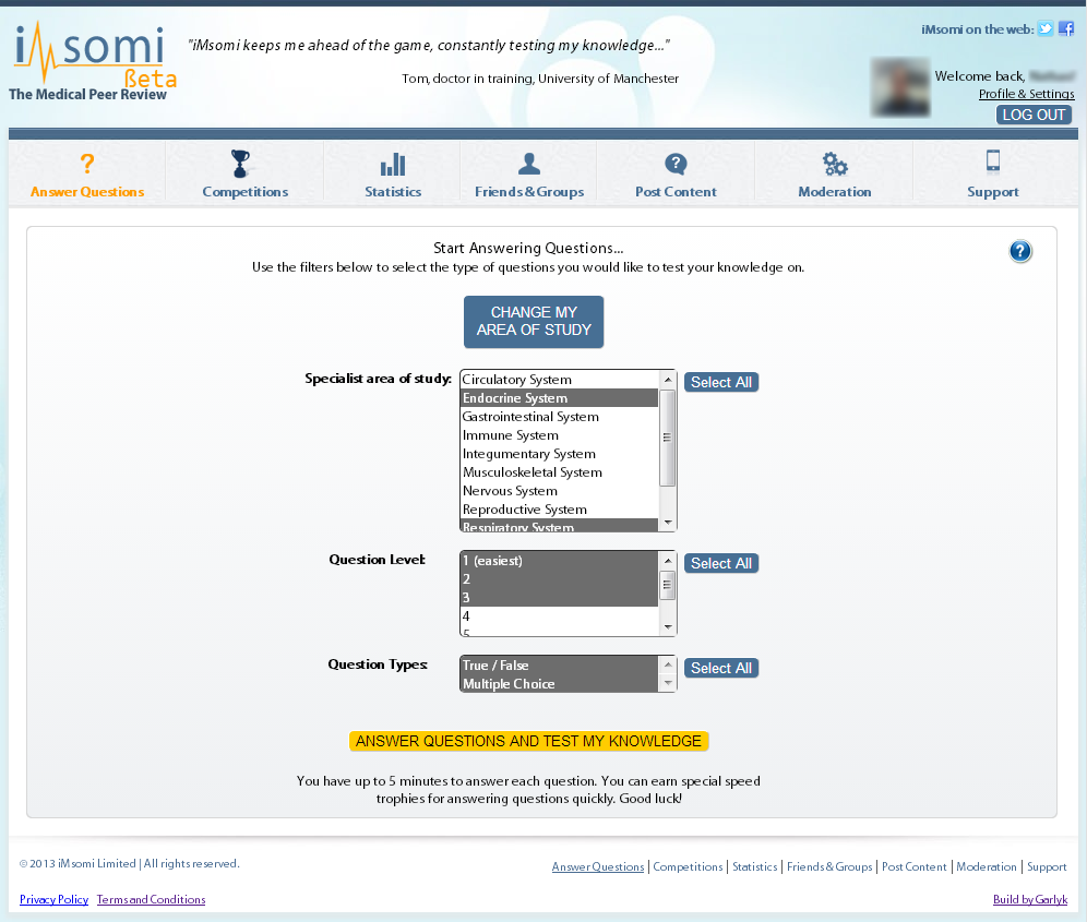 iMsomi - The medical peer review